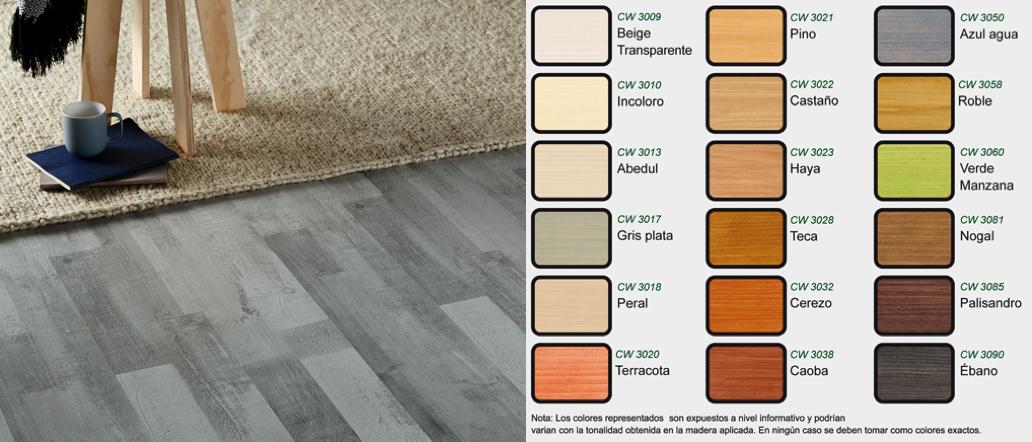 Cambiar color suelo de madera tarima parquet