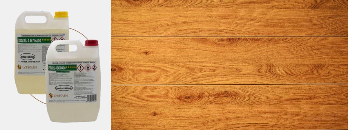 Barniz para suelos de madera parquet y tarima