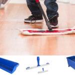 Productos para la aplicación de ceras, limpiadores