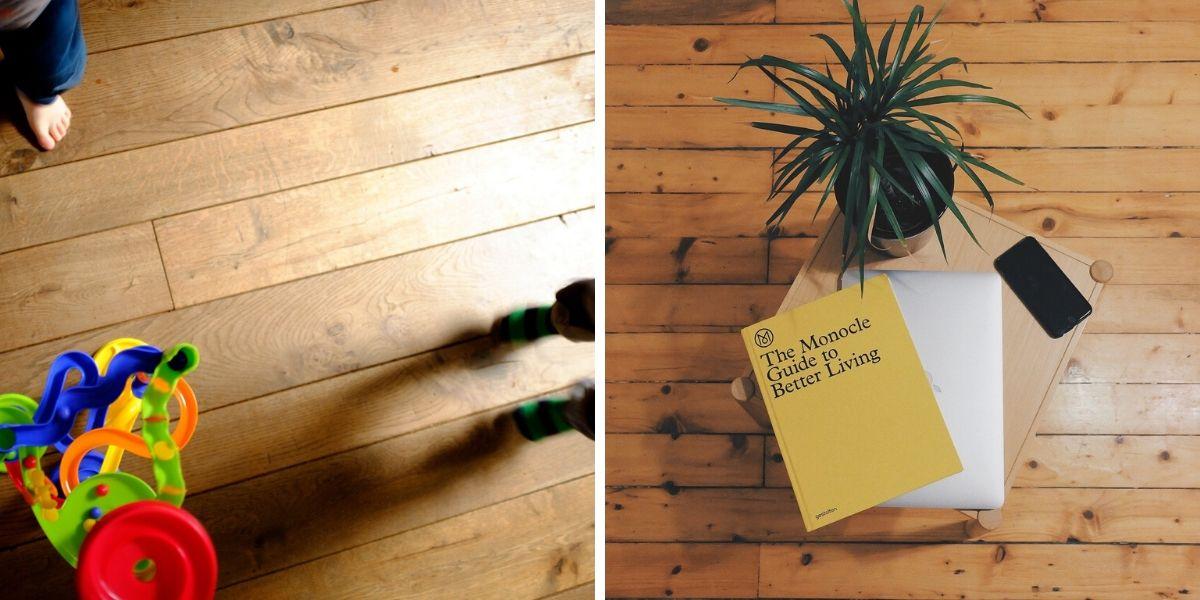 Los barnices para parquet o suelos de madera