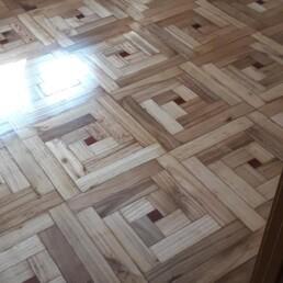 Antes suelo de madera