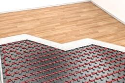 climatizacion radiante y suelos de madera